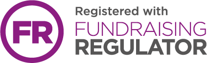 Registered with Fundraising Regulator, Logo
